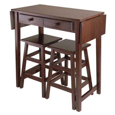 Mercer Double Drop Leaf Table with 2 Stools