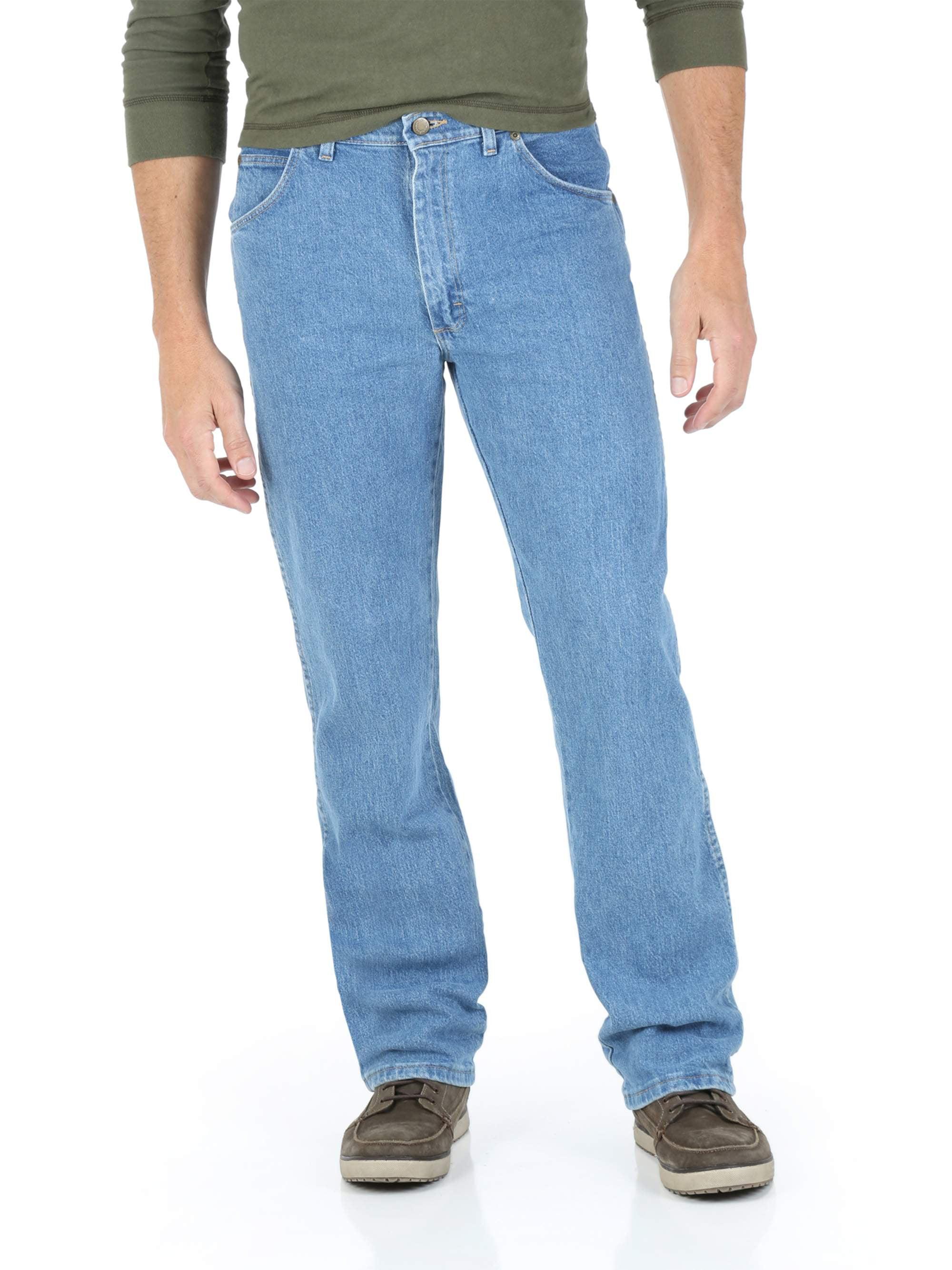 a8a5b58edb6 Wrangler - Big Men's Regular Fit Jeans with Comfort Flex Waistband -  Walmart.com