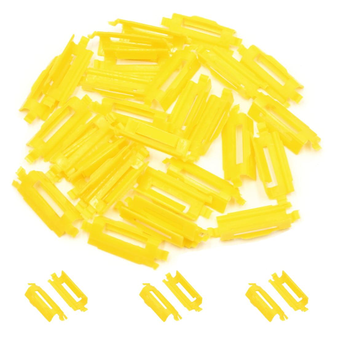 30 Pcs Yellow Car Auto Retainer Carpet Floor Mat Rivet Clips Fasteners - image 1 of 2