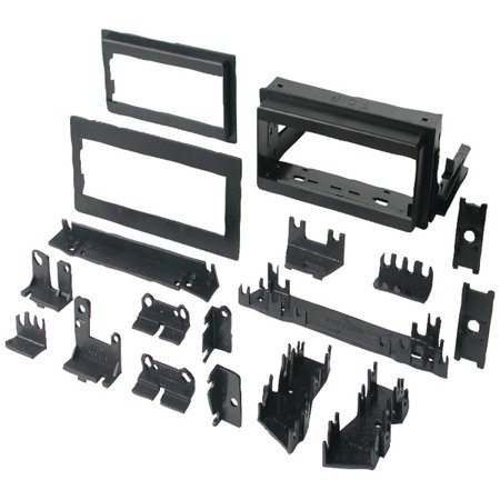 Brand New BEST KITS BKGM4 In-Dash Installation Kit (GM Universal 1982-2003 with Factory Brackets and Flat, .5