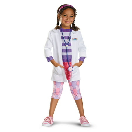 Doc Mcstuffins Costumes (Doc McStuffins Deluxe Girls Child Halloween)