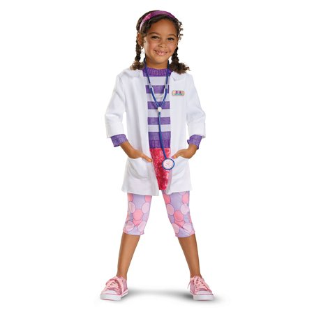 Doc McStuffins Deluxe Girls Child Halloween Costume for $<!---->