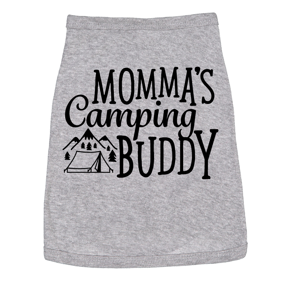 Dog Shirt Mommas Camping Buddy Cute Clothes For Pet Puppy
