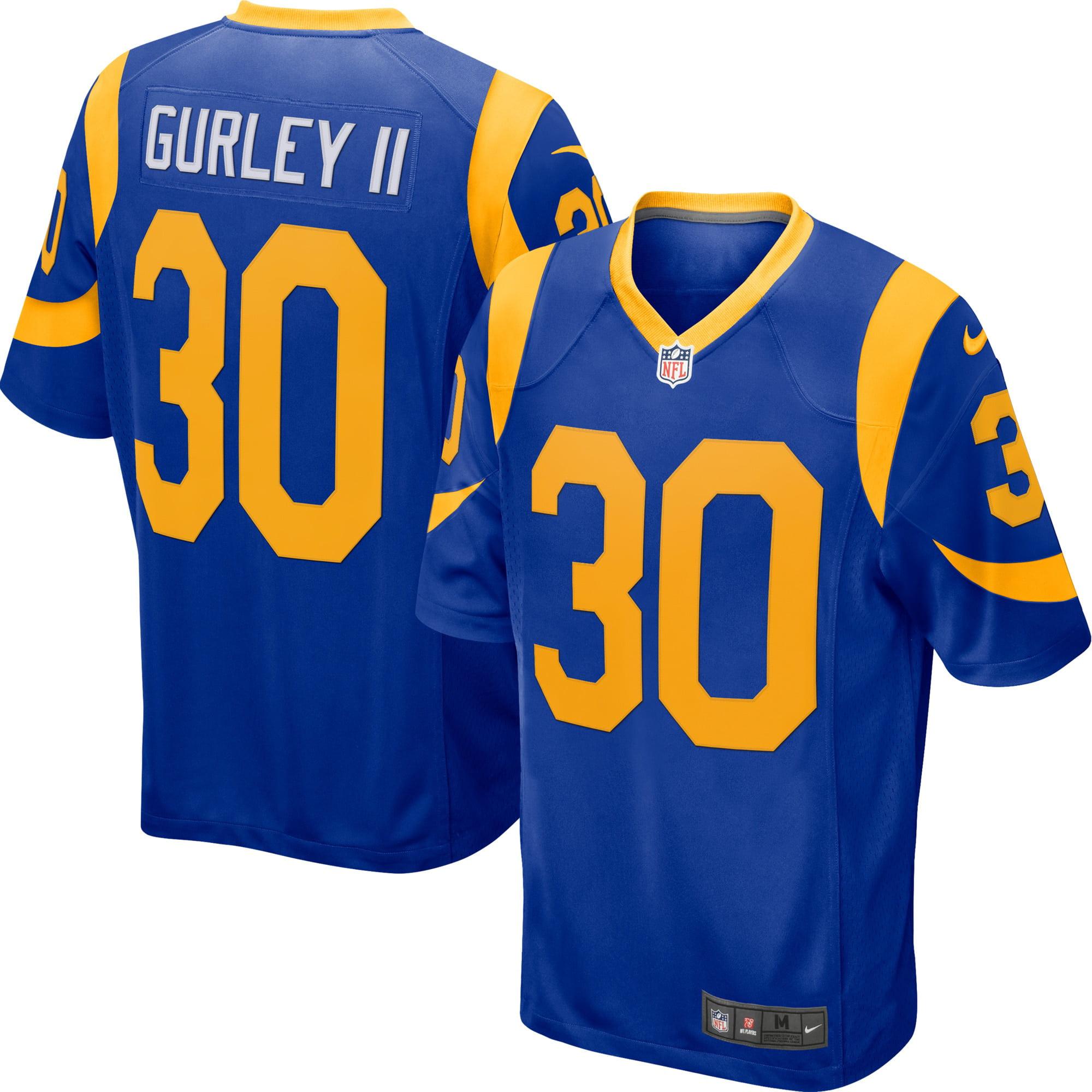 Todd Gurley II Los Angeles Rams Nike Player Game Jersey - Royal - Walmart.com