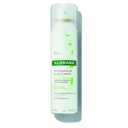 Klorane Dry Shampoo with Oat Milk, 3.2 Oz (Best Oat Milk Recipe)