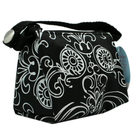 Pacifier Pouch (Paci Pouch Pacifier Holder - Black & White)