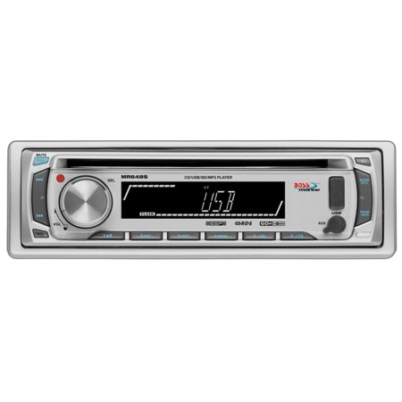 Silva Marine (Boss Audio MR648S 1-DIN Marine CD/MP3 Receiver, Silver )