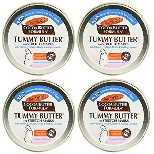 Palmer's Cocoa Butter Tummy Butter, 4.4 Ounce, 4 Pack