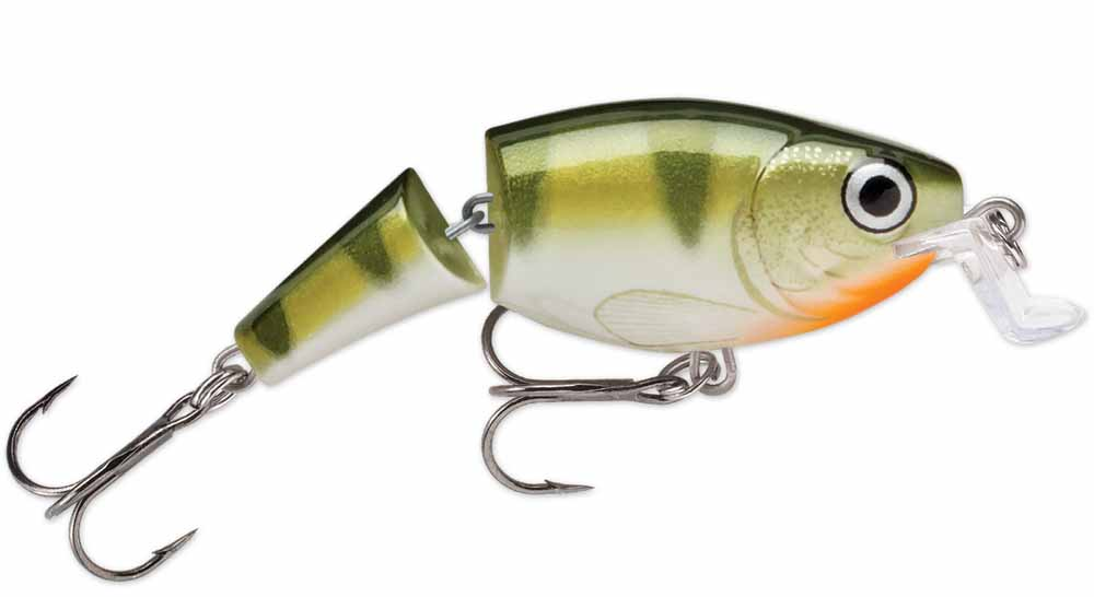 Rapala Jointed Shallow Shad Rap 07 Fishing Lure Yellow Perch by Rapala