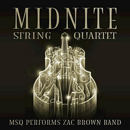 Midnight String Quartet Performs Zac Brown (CD) (Fox On The Run Zac Brown Band)