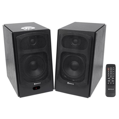 Rockville (HD5B) HD5B 150w Black Home Theater System Bookshelf Speakers/Bluetooth/USB