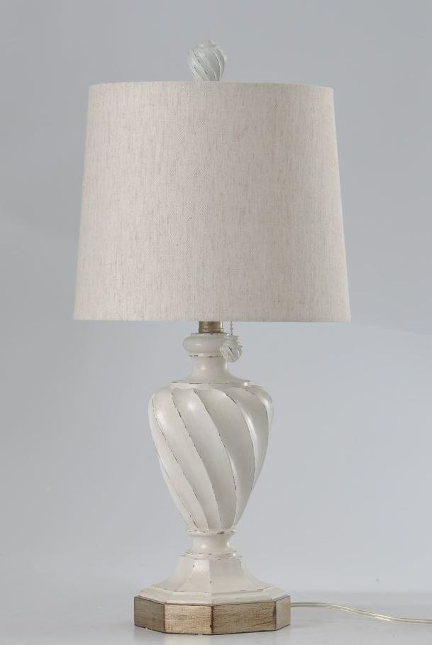distressed table lamps farmhouse chic table stylecraft white distressed table lamp with shade walmartcom