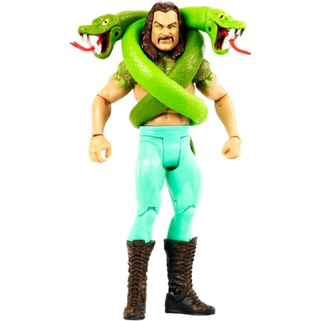 WWE Jake the Snake Roberts Monsters Action Figure (Undertaker Vs Jake The Snake Roberts Wrestlemania 8)