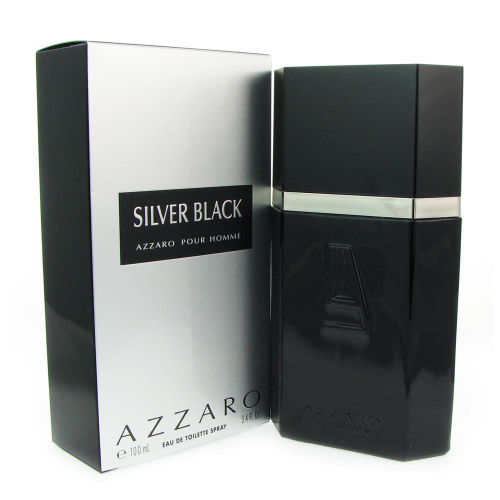 Image of Azzaro Silver Black for Men 3.4 oz EDT Spray