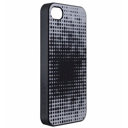 M-Edge My Edge Protective Case Cover for iPhone 4s 4 - Black Silver Dots