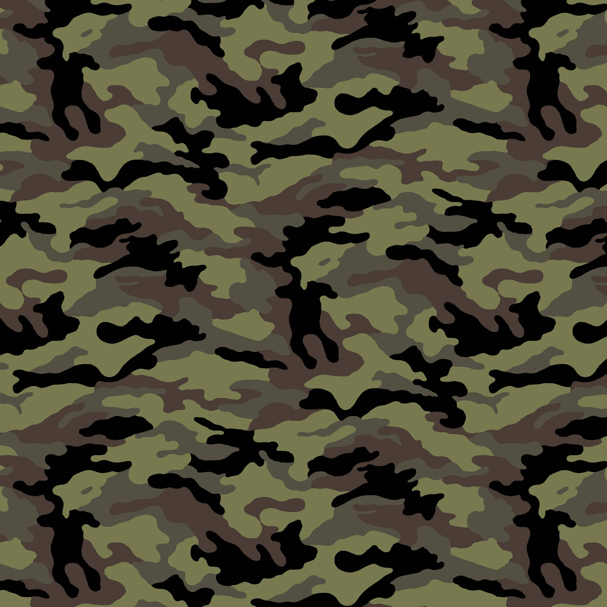 "David Textiles ""Camouflage"" Fabric by the Yard, 44""W"
