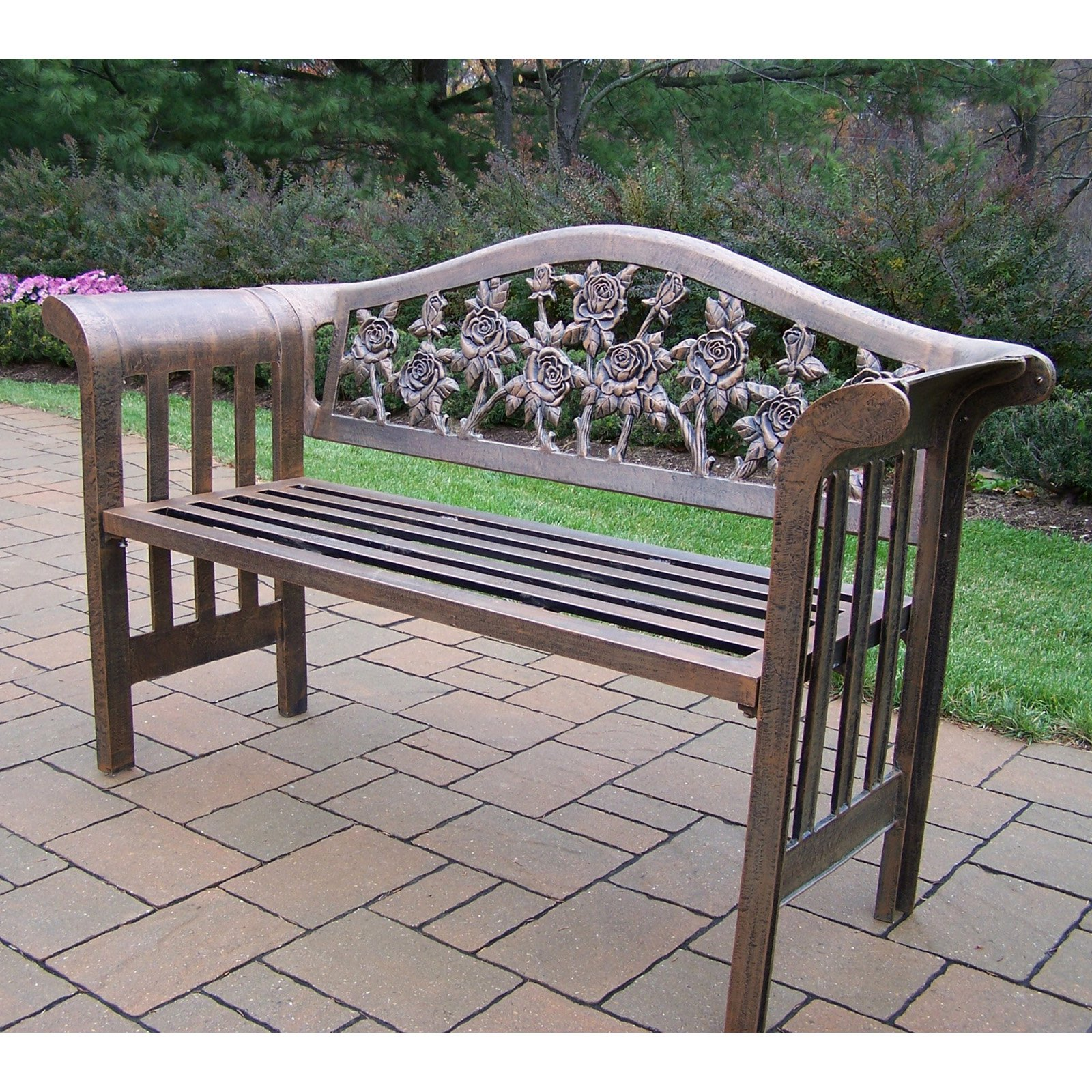 Brilliant Acacia Wood Patio Bench Brown Machost Co Dining Chair Design Ideas Machostcouk