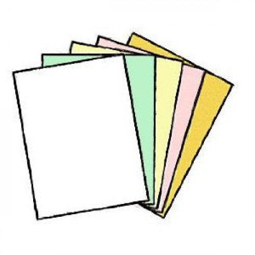 100 Sets of 5 Part NCR Carbonless Paper, 500 SHeets, Reverse Collated, Appleton by Appleton