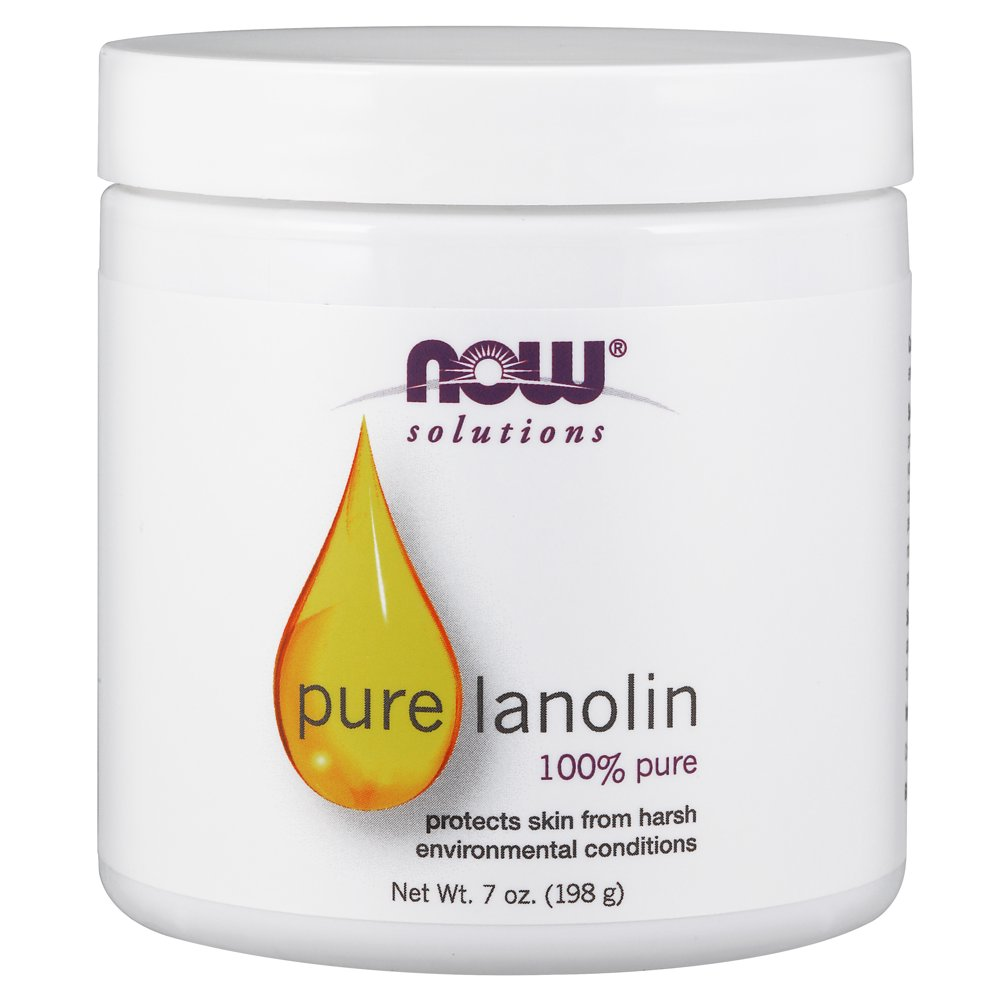 NOW Solutions, Pure Lanolin, Wind and Harsh Environment Skin Protectant, Thick Jelly,...