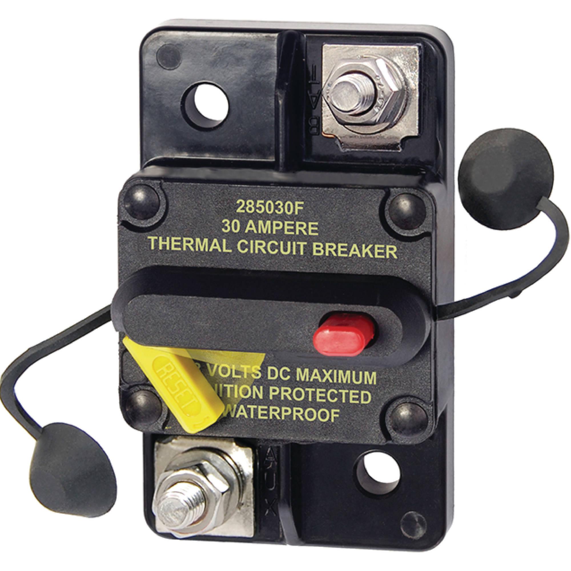 Buss 185050F Waterproof 50 Amp Boat Thermal Circuit Breaker