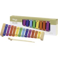 Stagg Metallophone 12 Keys (A to E) Rainbow Keys