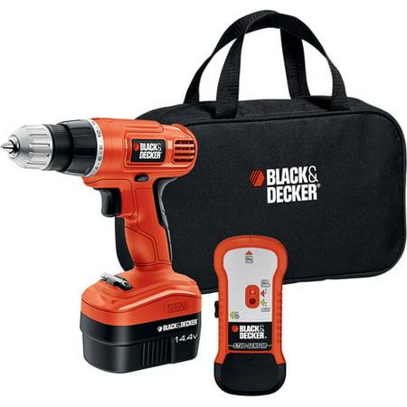 Black & Decker 14.4V Cordless Drill Set, GCO14SFB