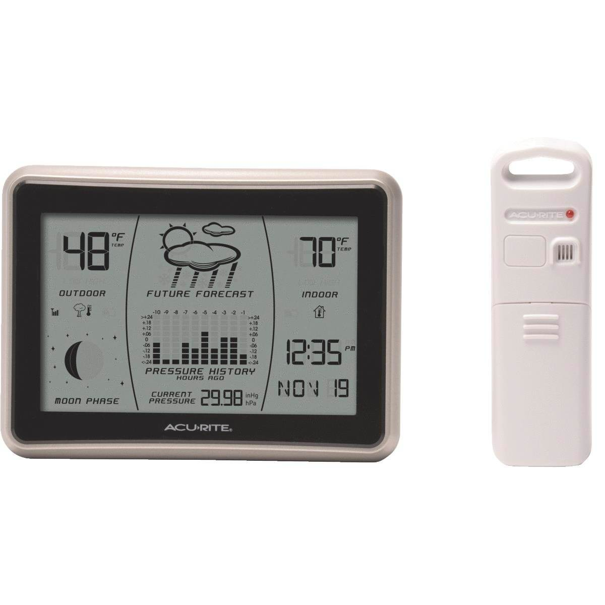 Acurite 00621 Wireless Weather Station with Forecast including Moon Phase by Chaney Instrument Co