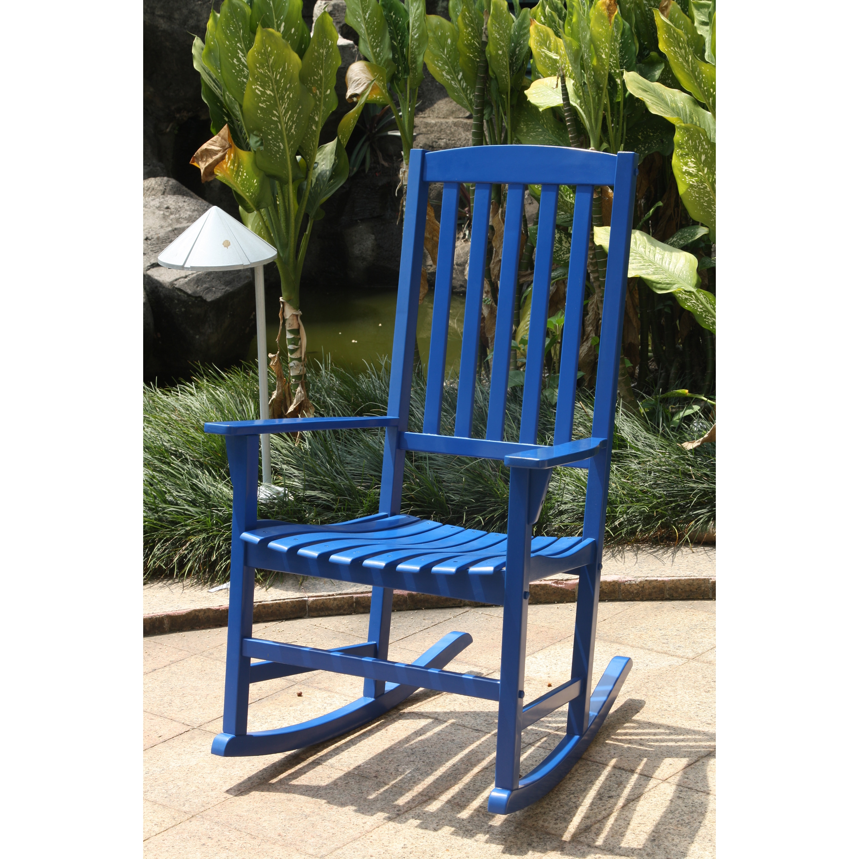 Cambridge Casual  Alston Porch Rocking Chair - Blue