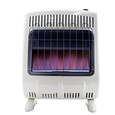 Mr. Heater 20K BTU Vent Free Blue Flame Natural Gas Heater w/