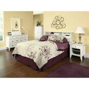 Sauder Shoal Creek Soft White Furniture Collection