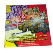G5AP 339-CANADIAN PLAY MONEY BILLS COINS CHEQUES AND CREDIT CARDS SET