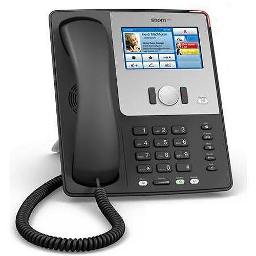snom 870 Touchscreen Desktop Phone