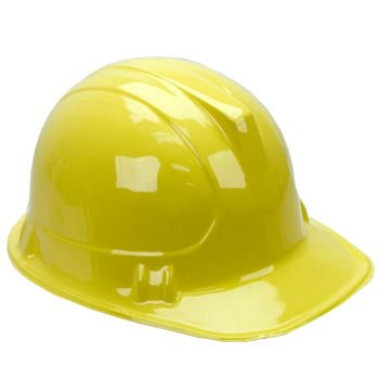Construction Hard Hat (each) - Party Supplies