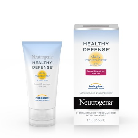 Neutrogena Healthy Defense Daily Face Moisturizer with SPF 50, 1.7 fl. oz