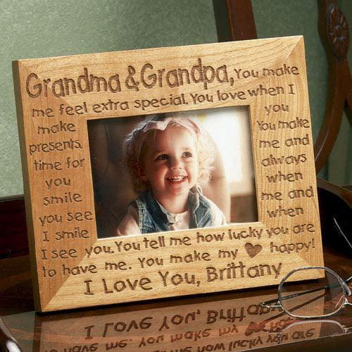 Personalized Grandma Grandpa Frame Walmartcom