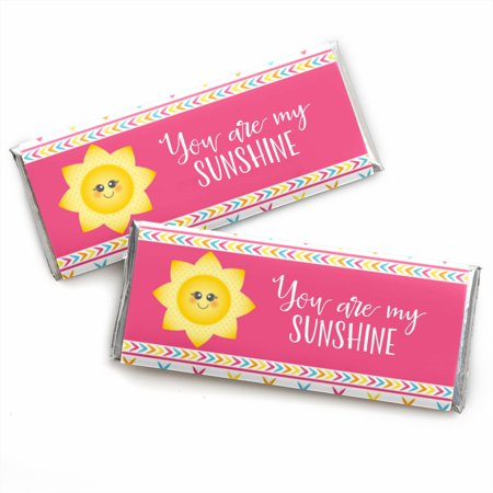 You Are My Sunshine - Candy Bar Wrappers Baby Shower or Birthday Party Favors - Set of - Sunshine Baby