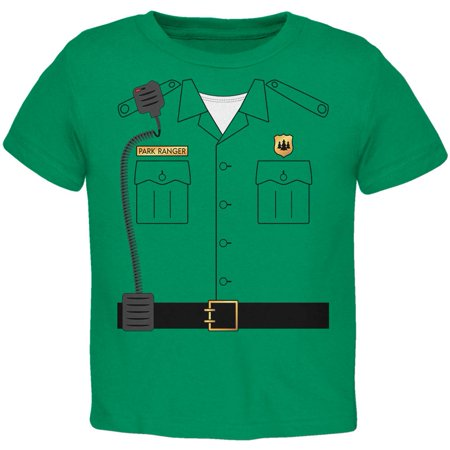 Halloween Forest Park Ranger Costume Toddler T Shirt