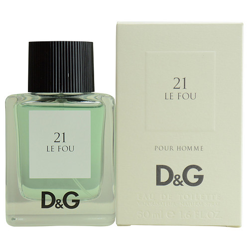 Dolce & Gabbana 18417553 D & G 21 Le Fou By Dolce & Gabbana Edt Spray 1.6 Oz