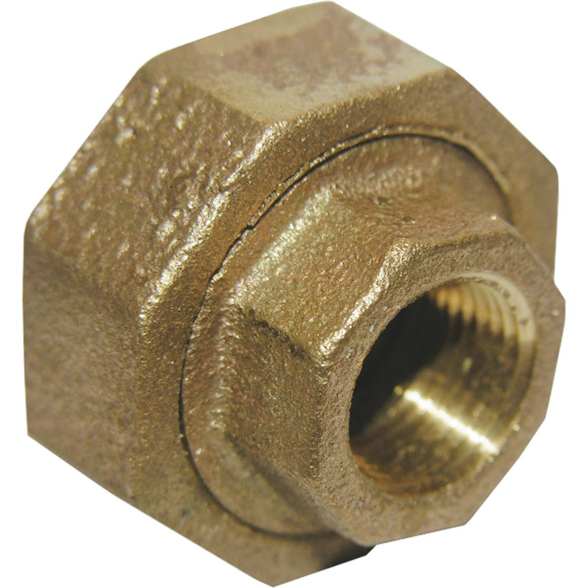 Lasco Red Brass Threaded Union