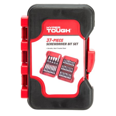 Hyper Tough 37 Piece Screwdriver Bit - Impact Torx Bit Set