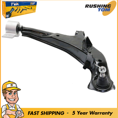 Front Lower Passengers Side Control Arm & Ball Joint Assembly For Maxima I30 - Makita Steel Ball