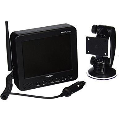 voyager wvom541ap 5.6 digital wireless lcd monitor/receiver, wisight technology, supports up to 4 wcvms130ap cameras, auto-pairing feature allows monitor to be paired to camera with touch of a button