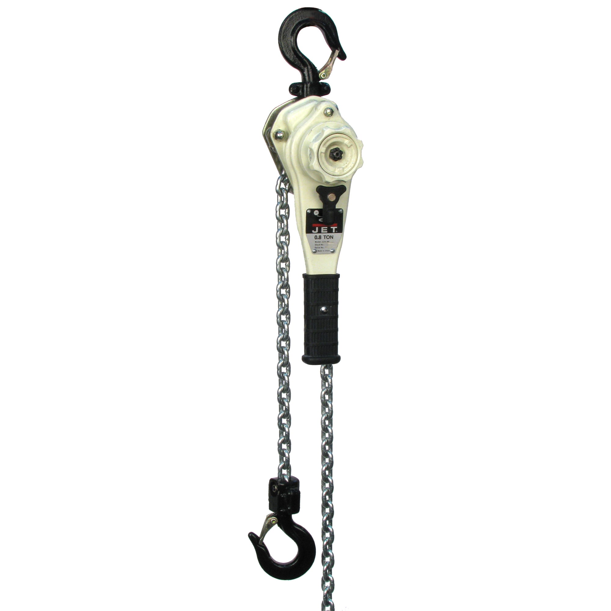 JET JLH-100WO-20 1 Ton Lever Hoist with 20' Lift and Overload Protection
