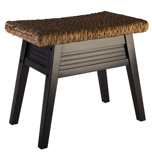 Elegant Home Fashions Bermuda Wood Bench