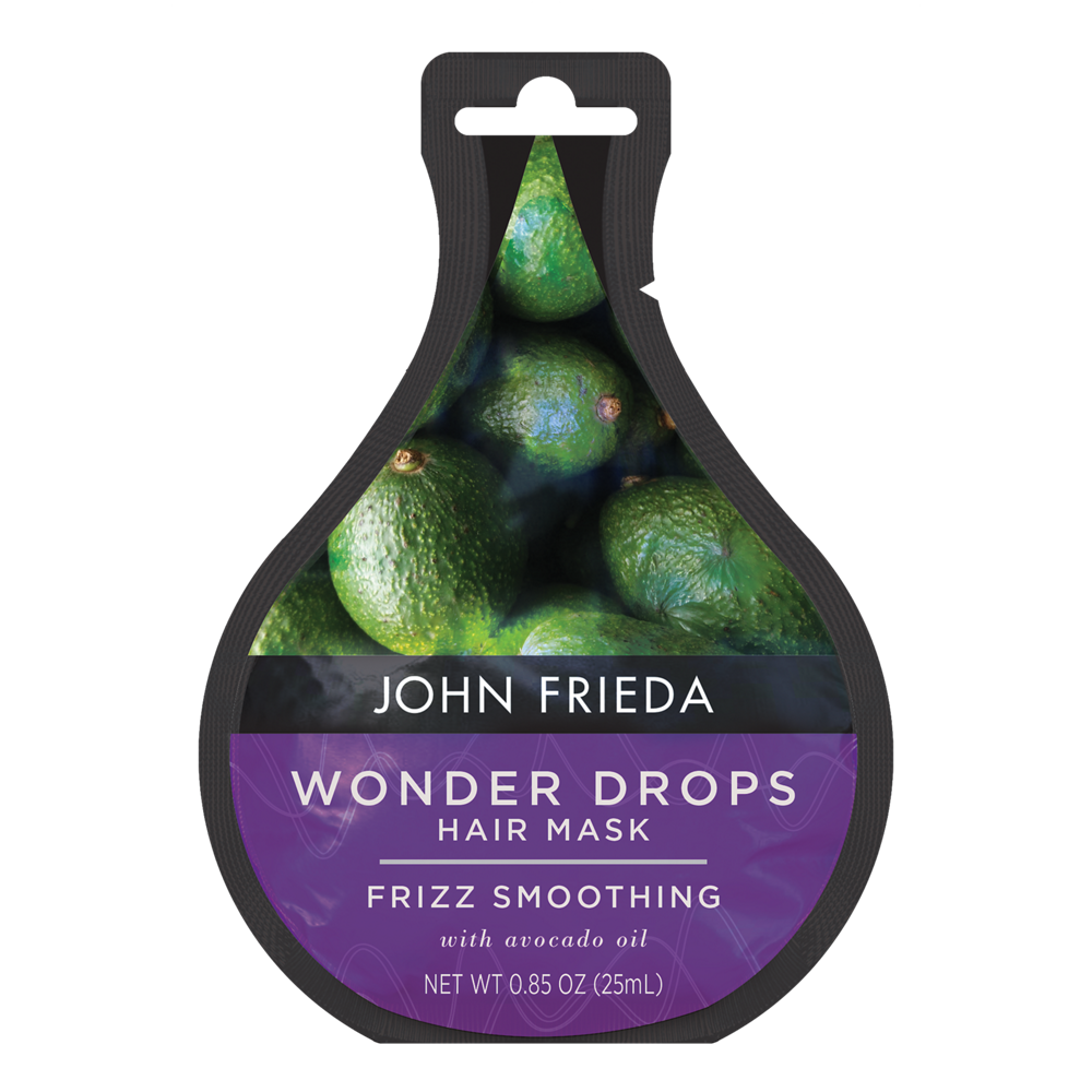 John Frieda Frizz Smoothing Wonder Drops Hair Mask with Avocado Oil 0.85 oz. Pack