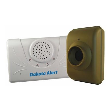 Dakota Alert Kit (Dakota Alert DCMA-2500 Driveway Motion Alert 2500' Kit (Green)