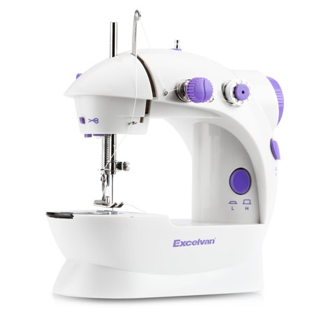 Excelvan household Mini sewing machine Multifunction Electric Double Adorable Mini Sewing Machine Walmart