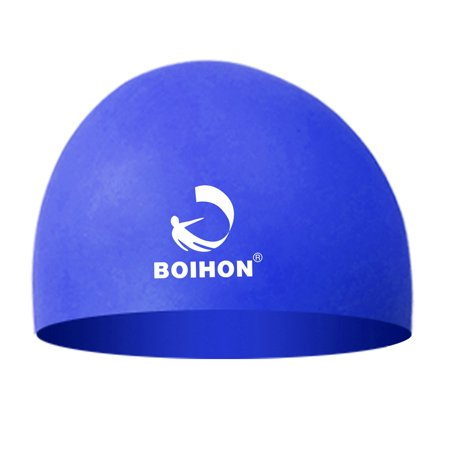 High Elastic Silicone Swimming Cap Waterproof Comfortable Hair Care Protect Ears Ultra Stretch Swimming