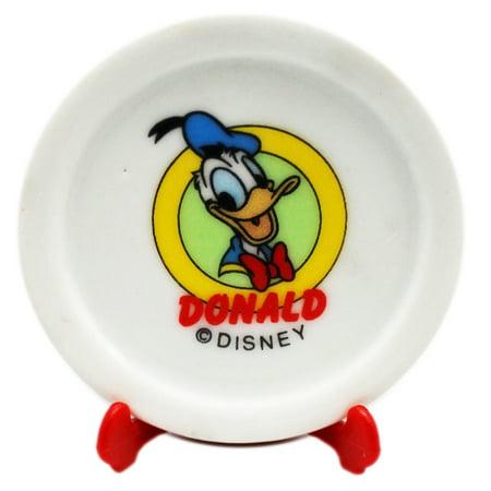 disney s donald and daisy duck decorative miniature plate set 2