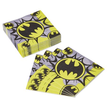 American Greetings Batman Lunch Napkins, 50-Count](Batman Party Supplies)